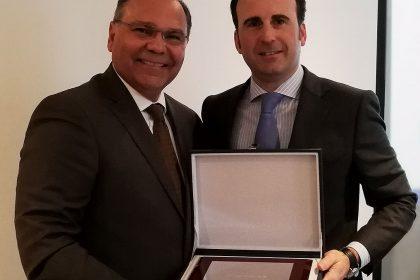 Despedida a Jorge Uribarri en la Asamblea General de FEEX el 15 de diciembre de 2017