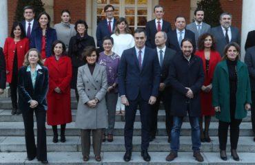 Todos los ministros del Gobierno de Pedro Sánchez